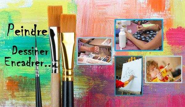 Peindre-Dessiner-Encadrer